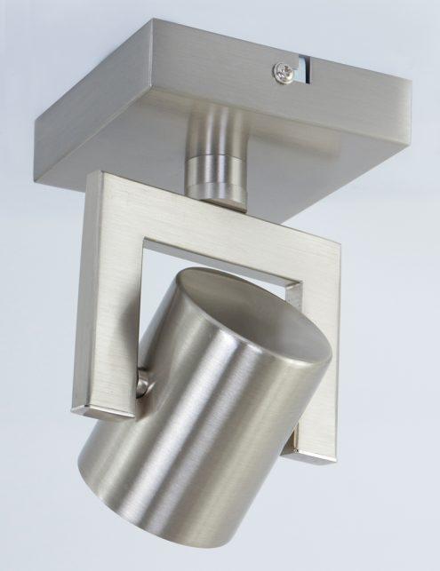 valvoled-plafondspot-staal-verstelbaar
