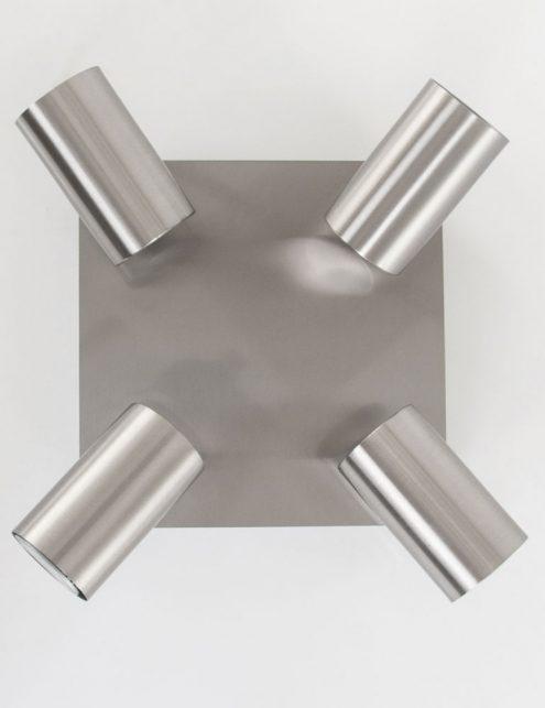 vierkante-vierlichts-plafondlamp-staal_1