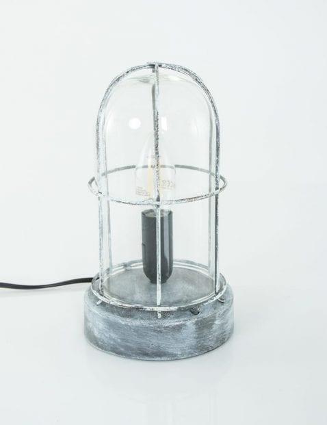 vintage-stolplampje-grijs-met-rooster