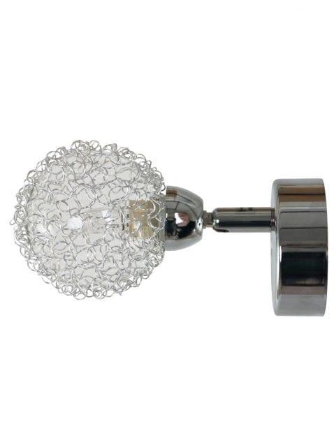 wandlamp-chroom-bolletje