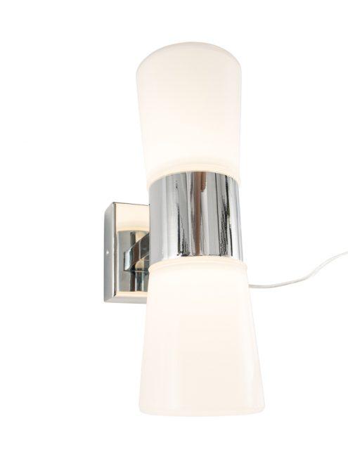 wandlamp-chroom-glas