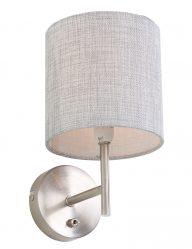 wandlamp-met-linnen-kapje