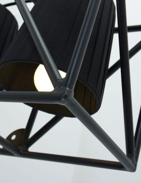 wandlamp-multilamp-wall-seletti-zwart