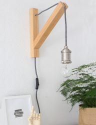 wandlamp scandinavisch galgje