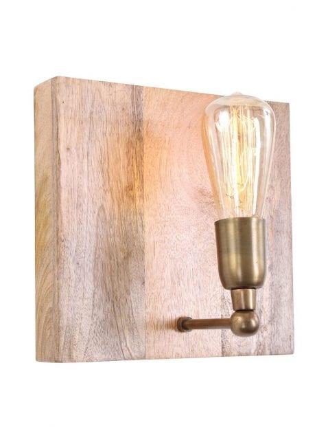 wandlampje-hout-brons-lichtbron-uniek