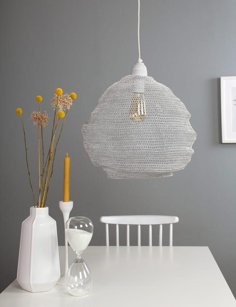 witte gaaslamp scandinavisch
