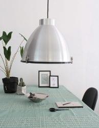 zilveren lamp hanglamp