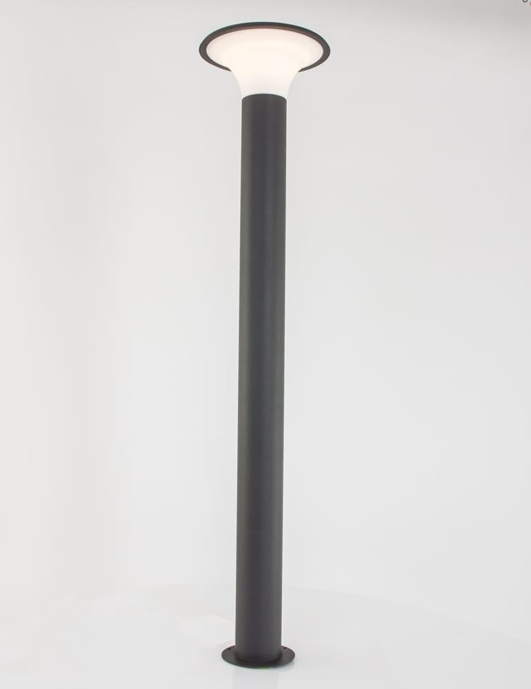 moderne buitenlamp trio leuchten kongo donkergrijs. Black Bedroom Furniture Sets. Home Design Ideas
