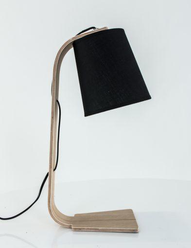 zwart-tafellampje-hout-la-forma-percy