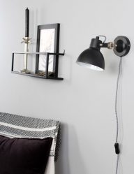 zwart-wandlampje