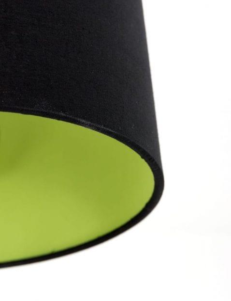 zwarte-kap-met-groene-binnenkant