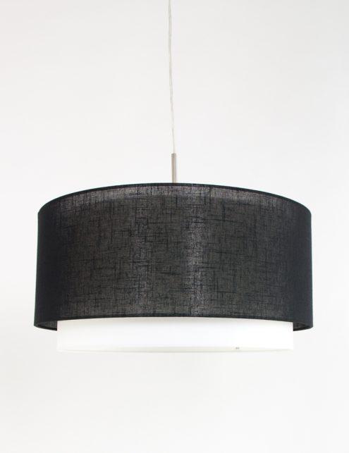 zwarte-kap-met-witte-binnenrand-freelight-hanglamp