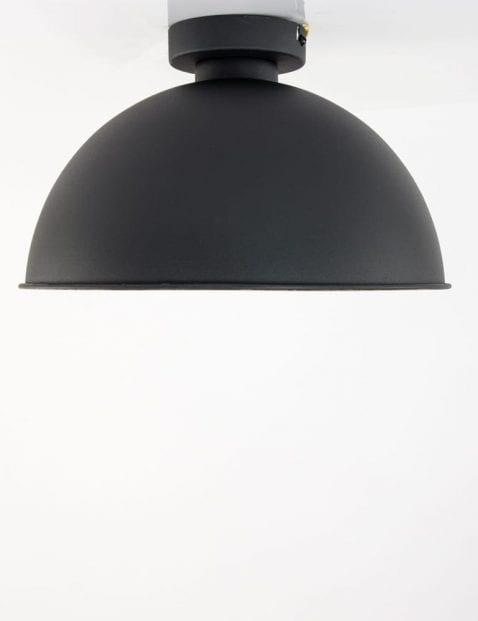 zwarte-ronde-plafondlamp