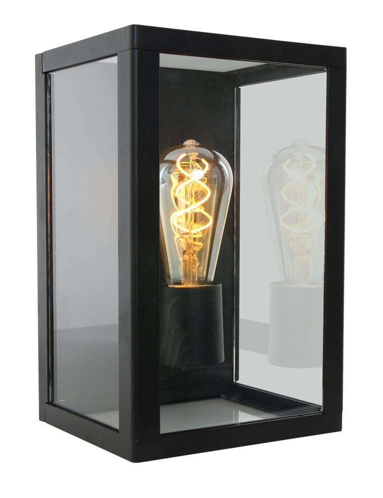 Favoriete Lantaarn wandlamp Shada The Hague zwart - Directlampen.nl KO53