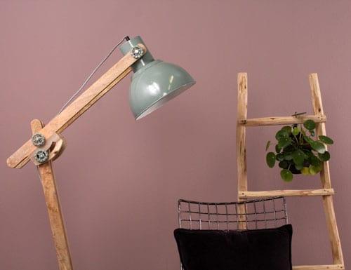 Het geheim van een landelijk interieur directlampen