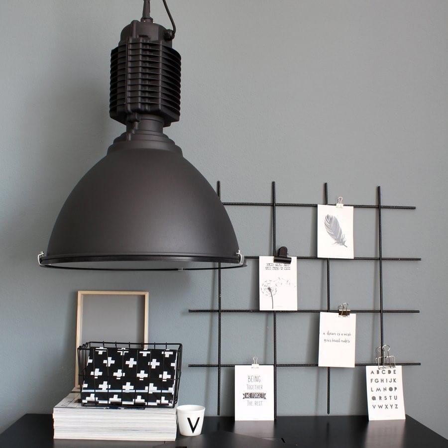 Zwarte hanglamp Hanne