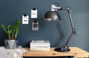 bruine eettafellamp