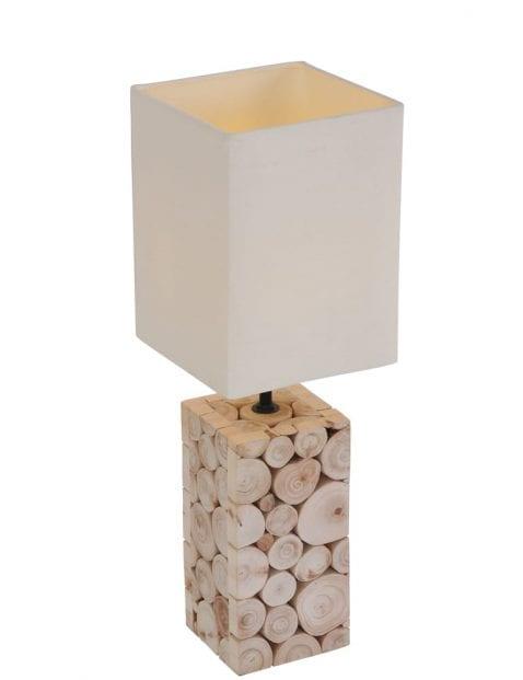 houtblok-tafellamp-witte-kap