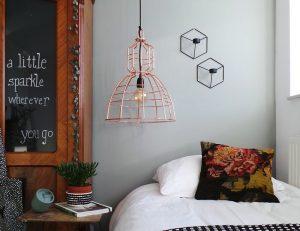 koperen draadlamp mark