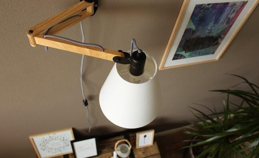 landelijke wandlamp