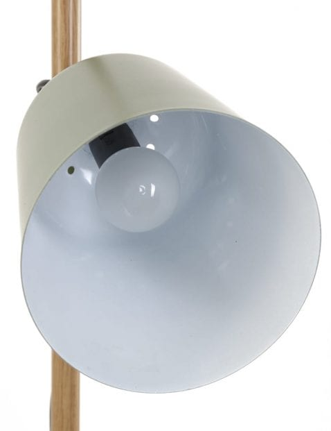 landelijke_groene_staande_lamp_met_houten_detail
