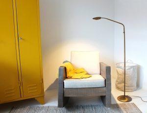 modern interieur in de woonkamer