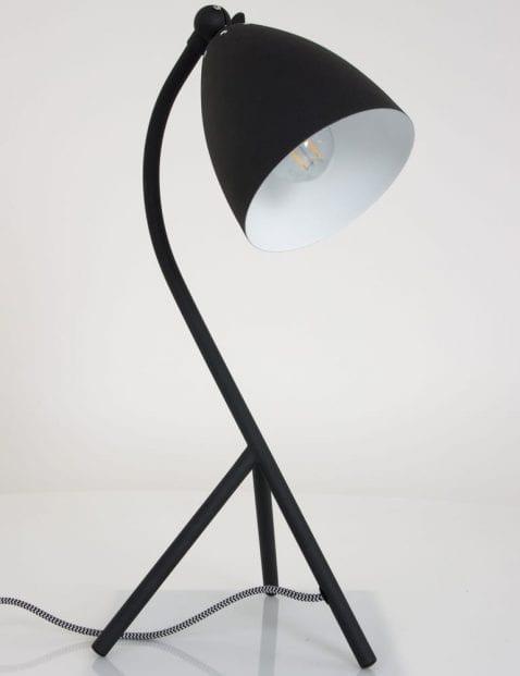 moderne-bureaulamp-elin-zwart-metaal