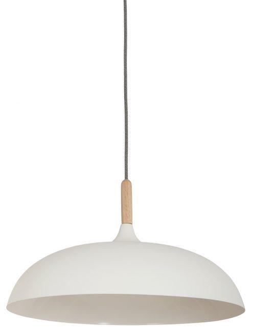 moderne-mat-witte-hanglamp-hout-stuk
