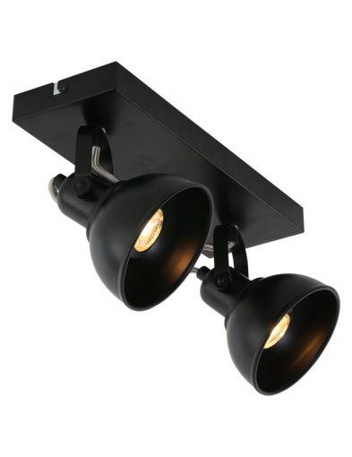 opvallende-plafondlamp-zwart