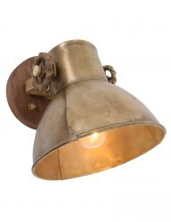 stoere-muurlamp-wandlamp-brons-met-hout