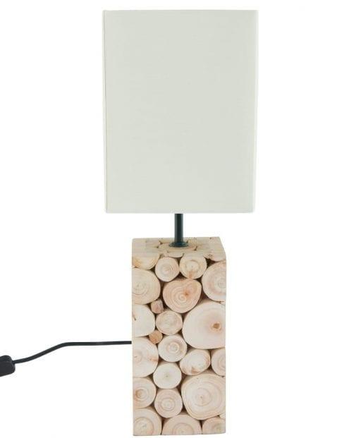 tafellamp-met-schemerkap-houten-details