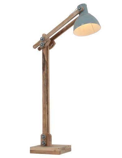 tafellampje-groenblauw-hout-industrieel_2