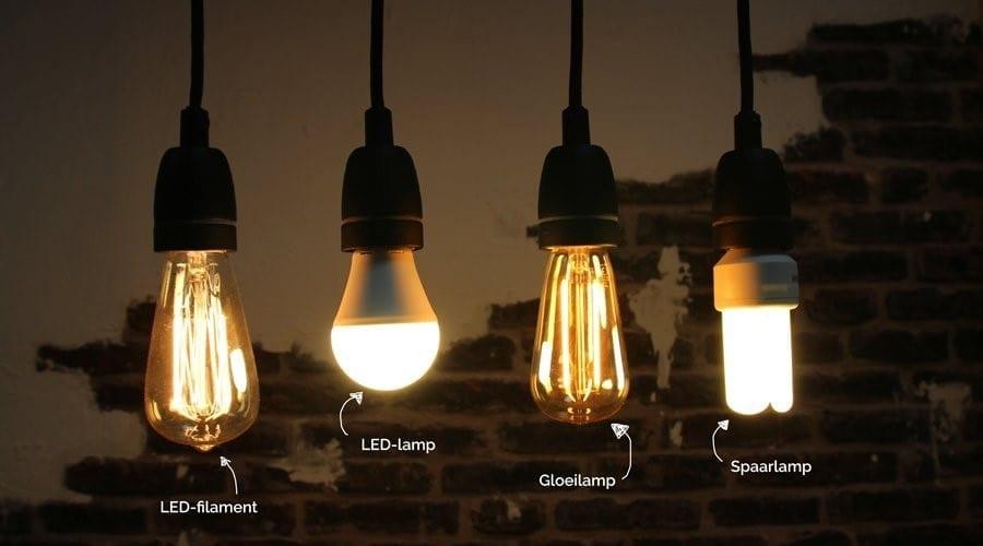 typen lichtbronnen