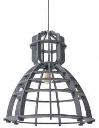 unieke-vilt-hanglamp-grijs