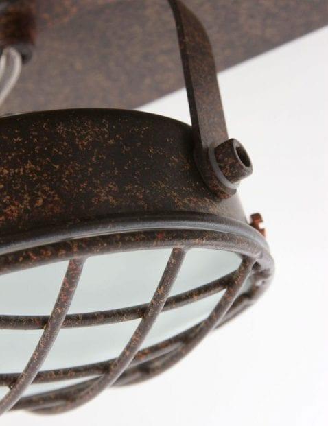 vier_spots_plafondlamp_bruin