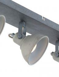 vierspots-lamp-plafond-grijs
