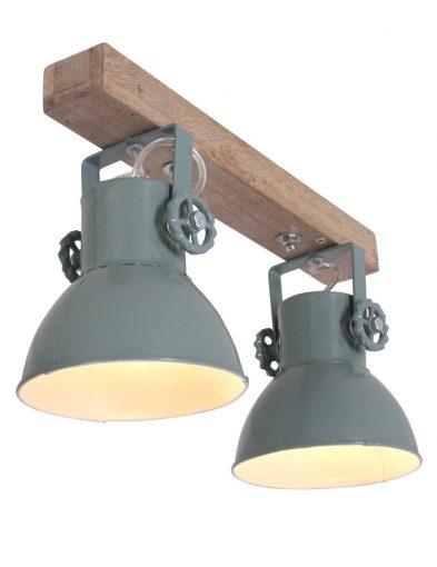 vintage-spots-aan-houten-plafondbalk_1