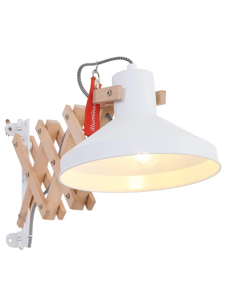 Wonderbaar Hippe schaarlamp Anne Lighting Woody Scissors wit - Directlampen.nl LS-25