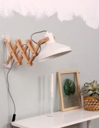 Hippe schaarlamp Anne Lighting Woody Scissors wit