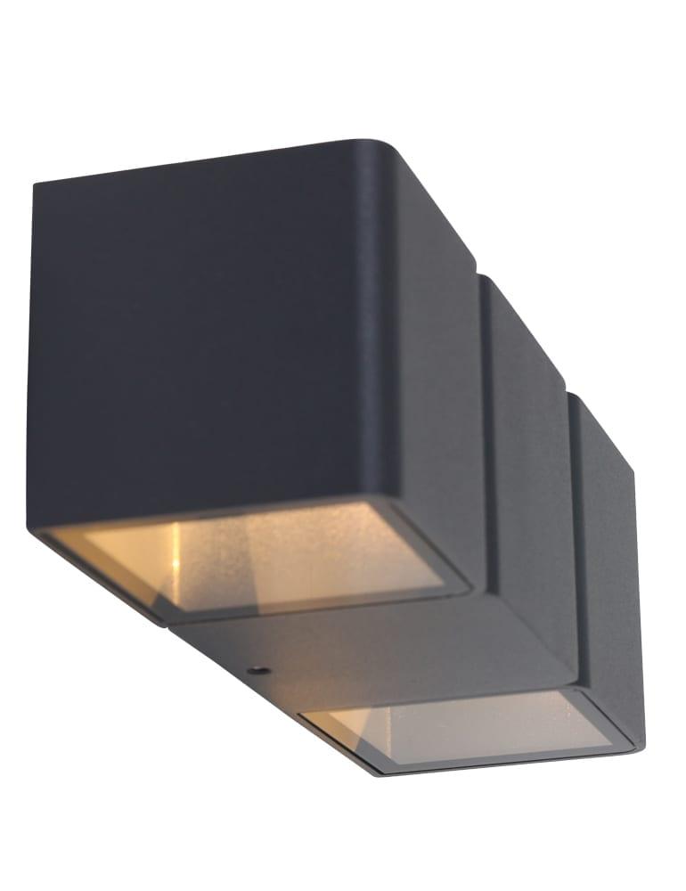 Verwonderend Eigenzinnige buitenlamp Shada Lisbon zwart - Directlampen.nl RH-56