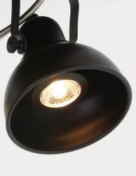 zwarte_4_lichts_plafondlamp