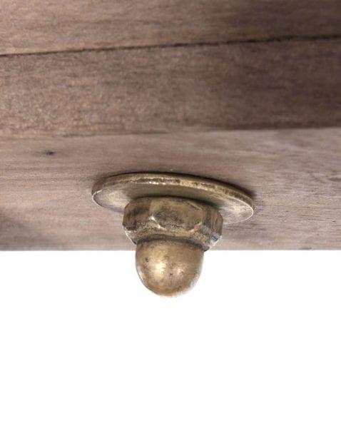 2 lichts plafondspot met hout