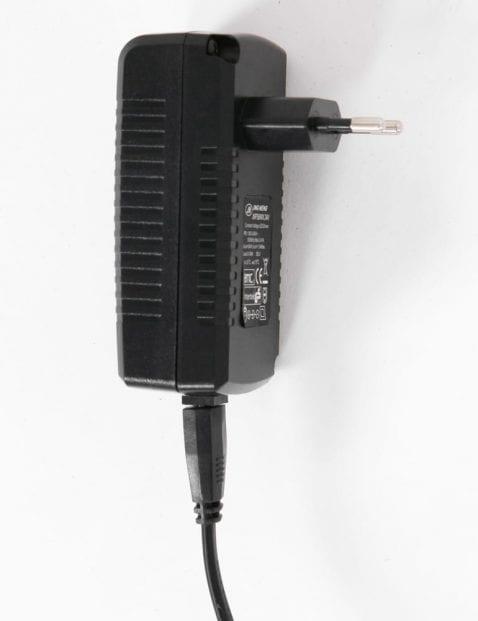 Moderne zwarte vloerlamp