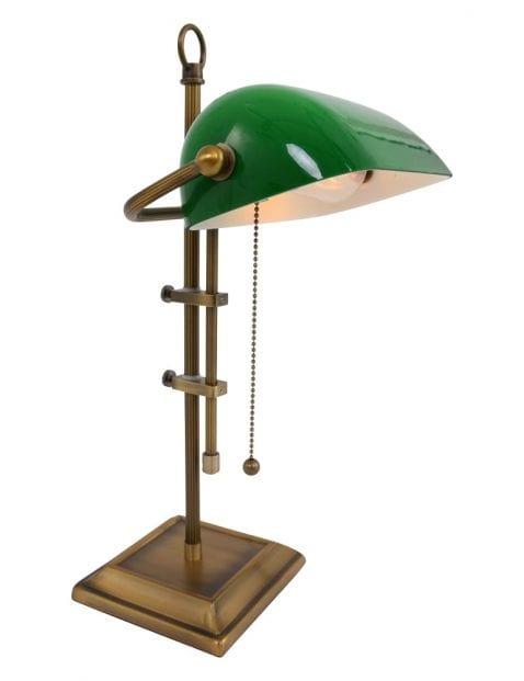notarislamp groen
