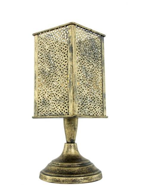 Bronzen-tafellamp-Arabisch