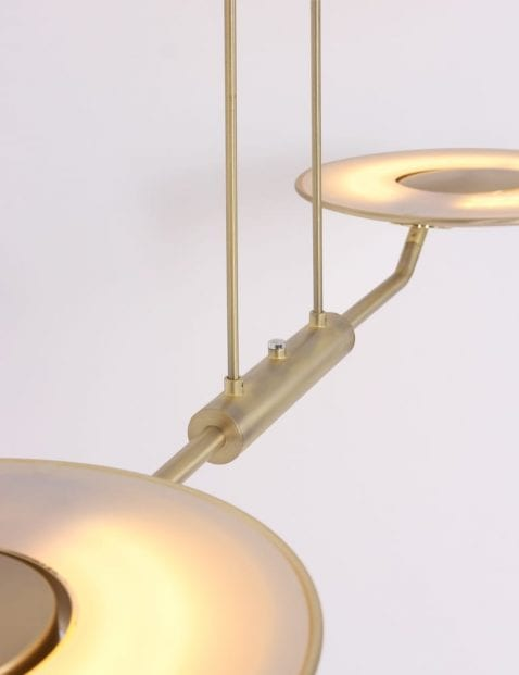 Gouden-hanglampen