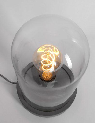 Grijze-stolplamp