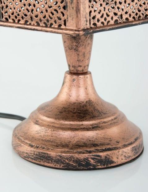 Koper-details-tafel-lamp-oosters