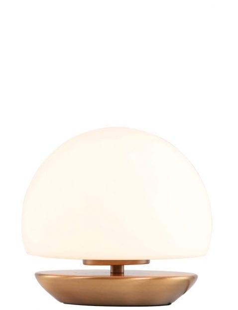 Rond-bedlampje-brons