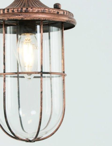 Scheepslampje-koperkleur